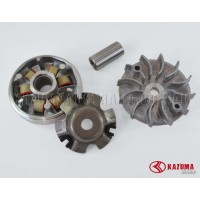 Front clutch pulley assy