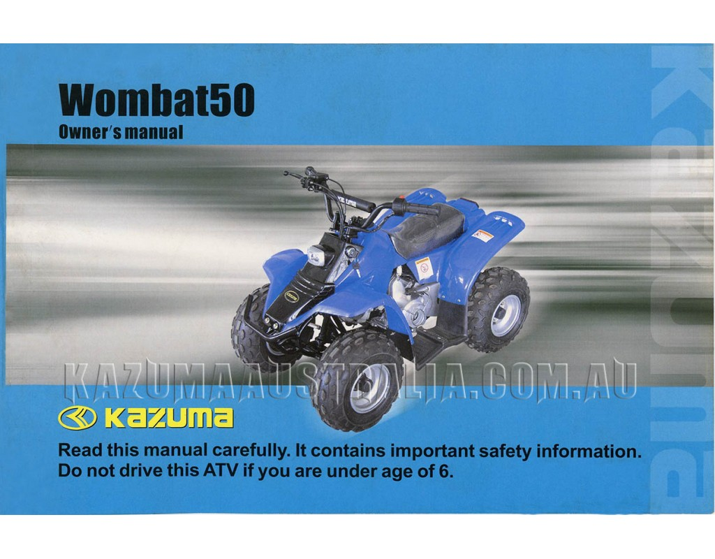 Downloads Wiring Diagram Kazuma Jaguar 500cc Wombat 50cc Manual