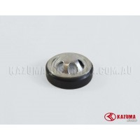 Glass meter and seal for engine oil